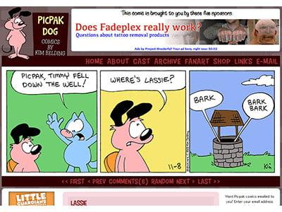 Picpak Dog
